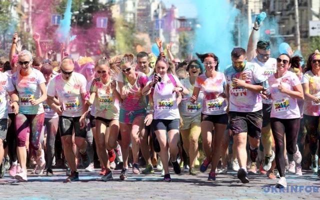 До Дня молоді в Івано-Франківську проведуть кольоровий забіг