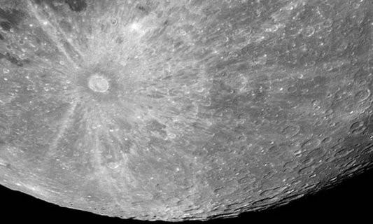 Самый известный кратер на Луне сняли с Земли по новой технологии: детализация впечатляет
