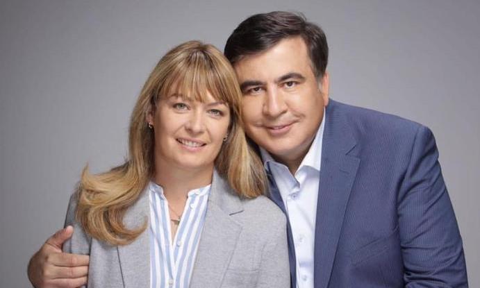 Законная жена Саакашвили впервые прокомментировала его отношения с другой женщиной